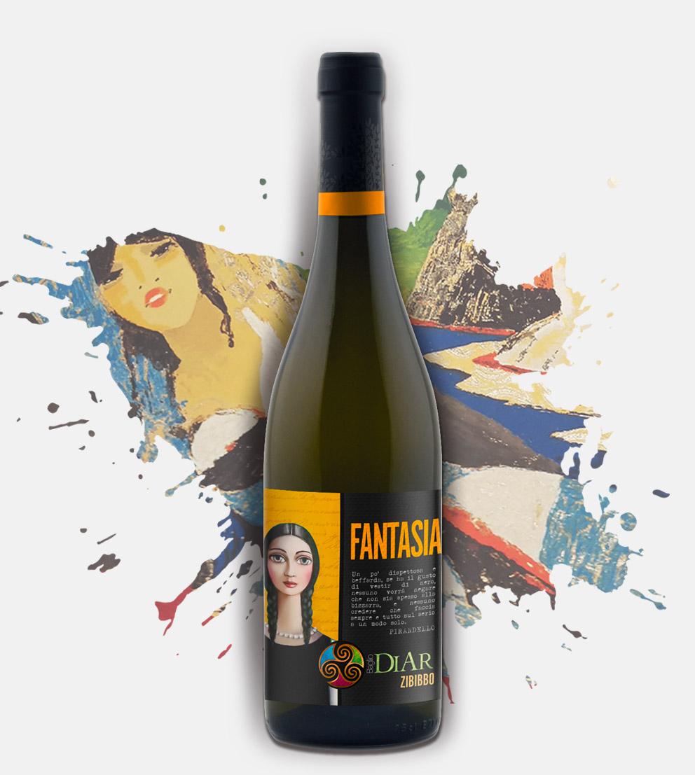 Vino Zibibbo - Fantasia - Baglio Diar