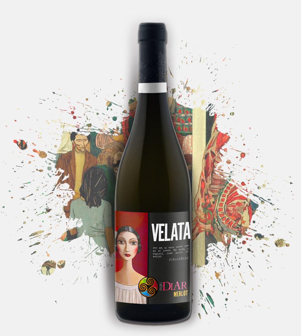 Baglio Diar - velata - vino merlot